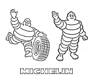 Michelin Logo Sketch