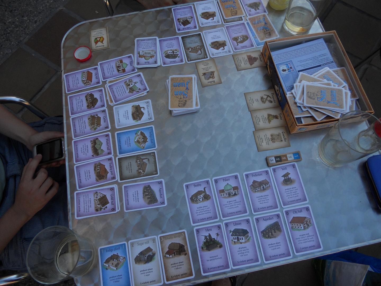 Despidiendo sevilla tableronne for Puerto rico juego de mesa