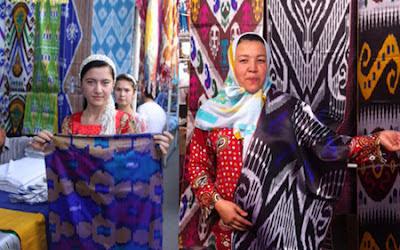 uzbekistan tours ferghana valley ikats