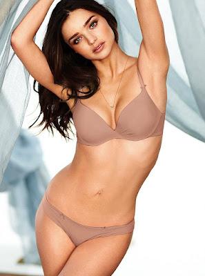Miranda Kerr Sexy Victoria's Secret Lingerie Model Photoshoot