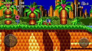 Aplicación Juego Sonic para Android