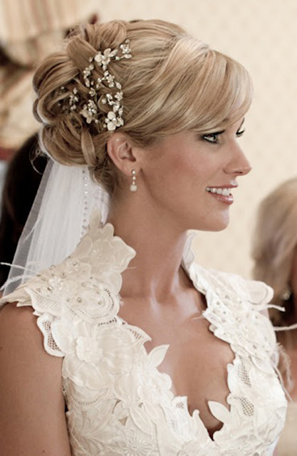 Bride: Celebrity Wedding Look Series: 10 Celebrity Wedding Hairstyles