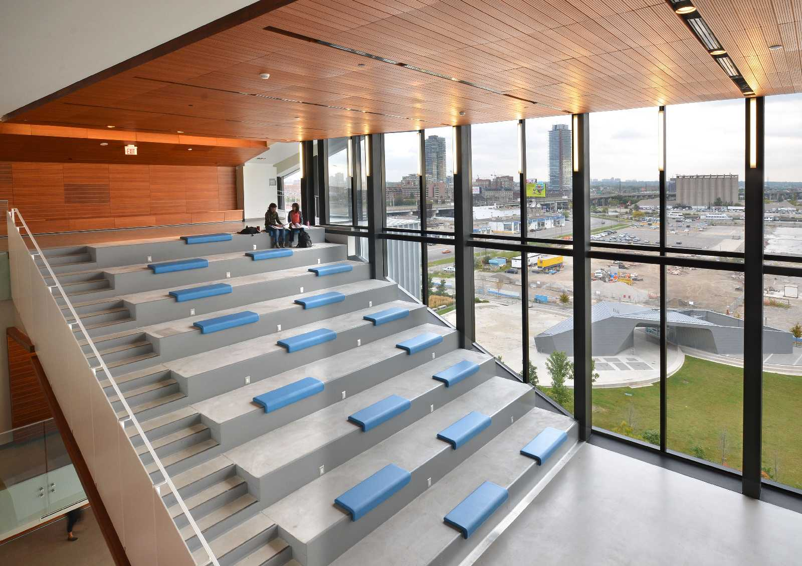 George Brown College Waterfront Campus By Stantec Kpmb