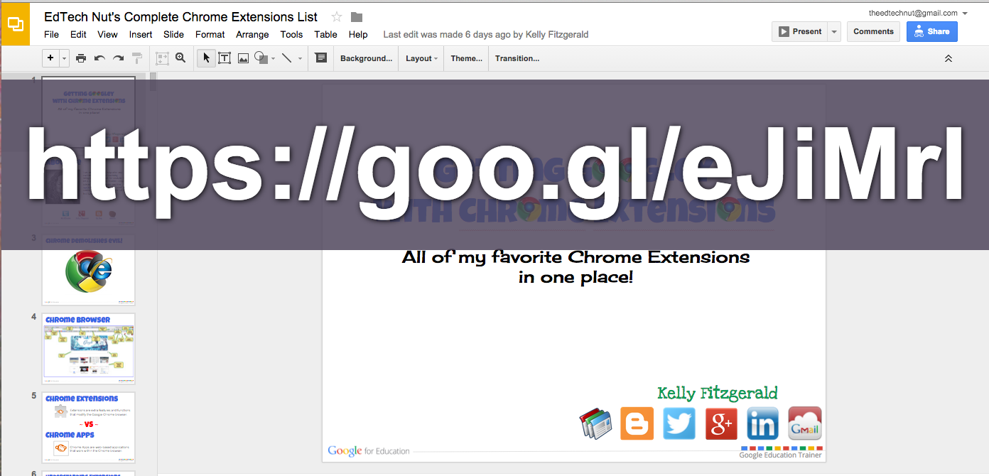 Gmail theme extension - Use The Goo Gl Chrome Extension To Create The Url And Then Paste The Address Into Crafty Text Now Everyone Can See It