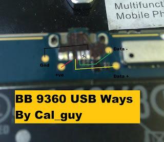 Blackberry 9360 Charging Port Problems Repair Solution