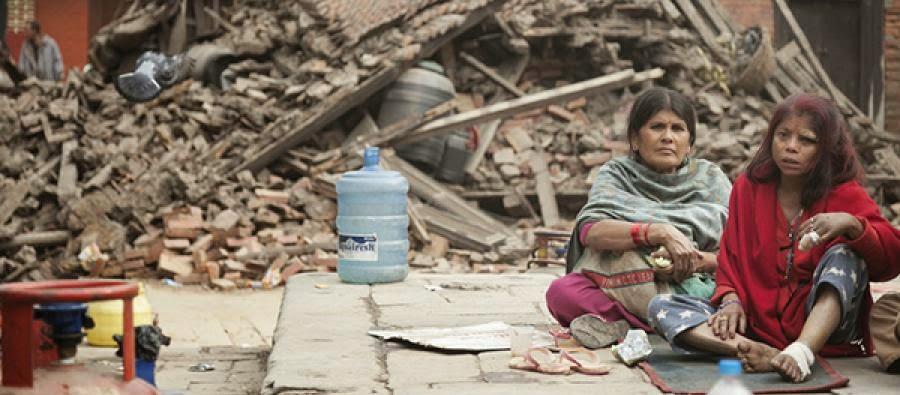 a powerful earthquake struck nepal saturday