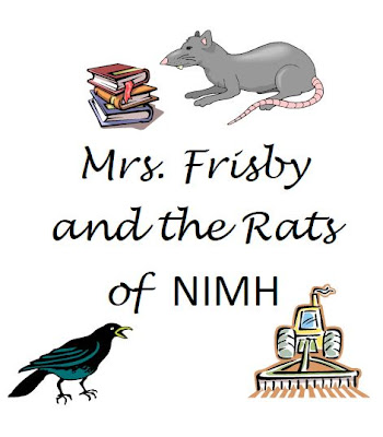 Free worksheets for Mrs. Frisby and the Rats of NIMH. Vocab ...