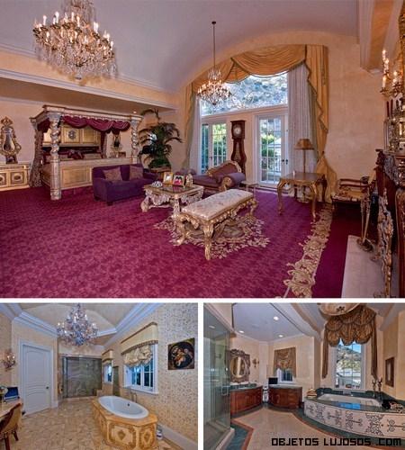 La mansion de adrienne maloof solo para ricos y millonarios for Fotos casas famosos