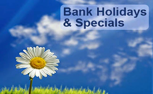 Must Know List of Banking Holiday This Christmas and New Year 2014