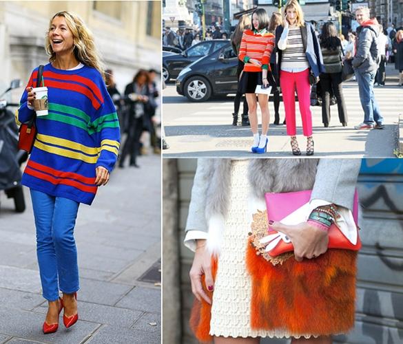 Moda de color