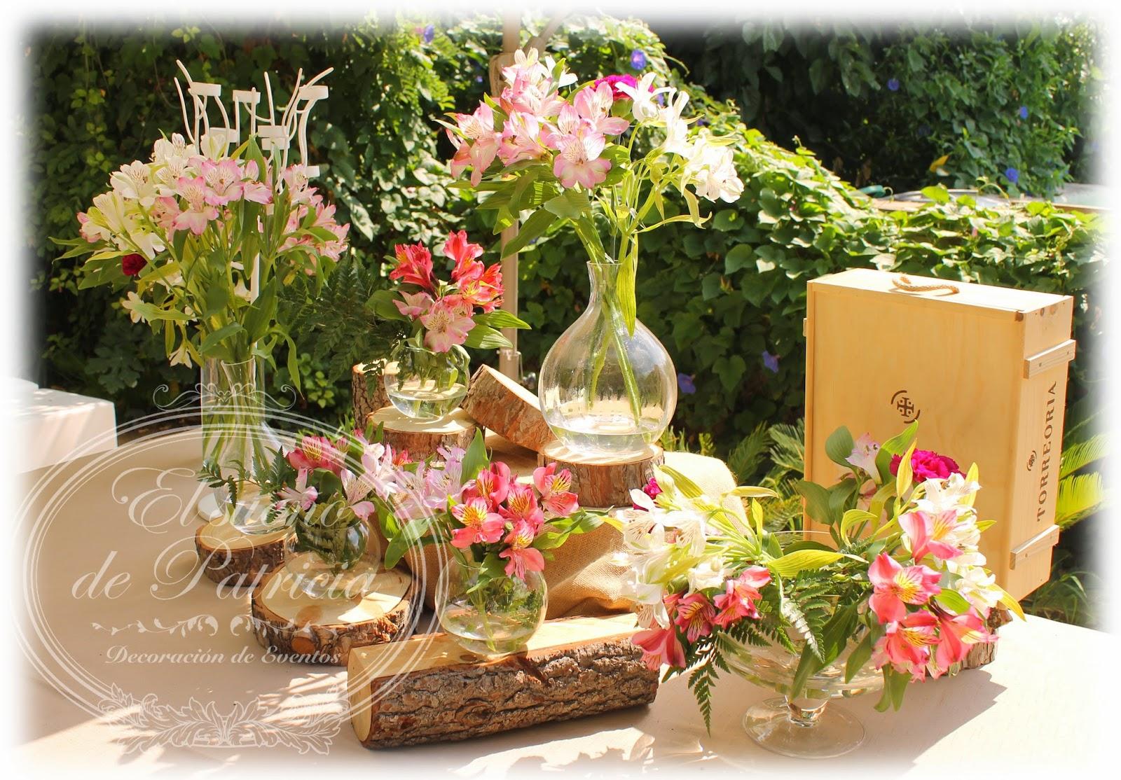 Vino decoraci n de la decoraci 243 n para tu boda con for Adornos boda jardin