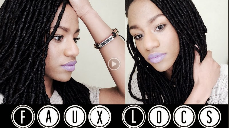 Get The Look Faux Locs Crochet Braids Tutorial CurlyNikki Gorgeous Braid Pattern For Crochet Faux Locs