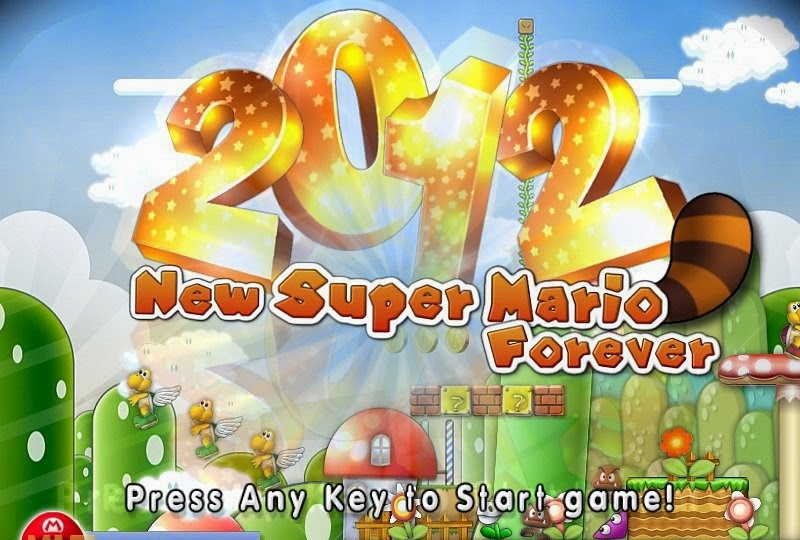 Download New Super Mario Forever 2012 PC Game