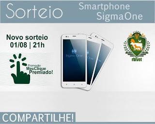 Participe do Sorteio de um Smartphone Sigma One Milky White
