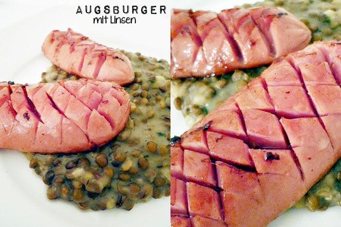 Augsburger mit Linsen