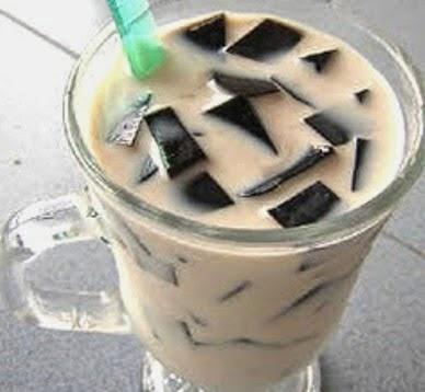 Resep Cincau hitam, cara membuat es cincau, cincau hitam, segar, enak