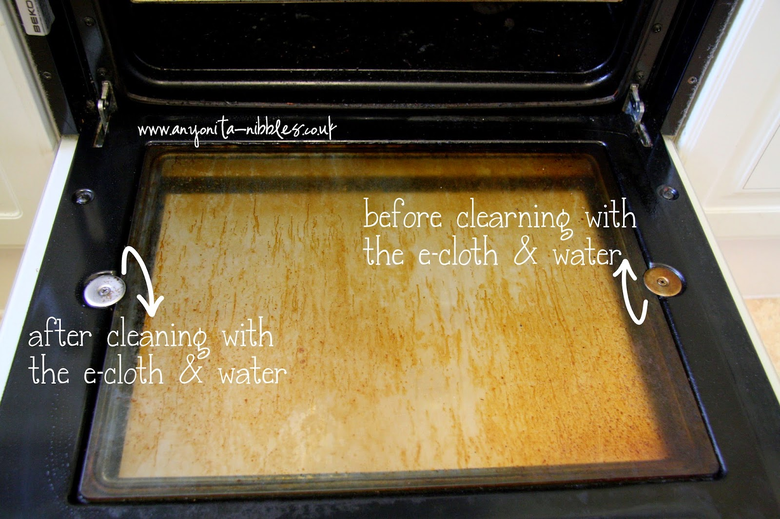 how to clean oven without using self clean