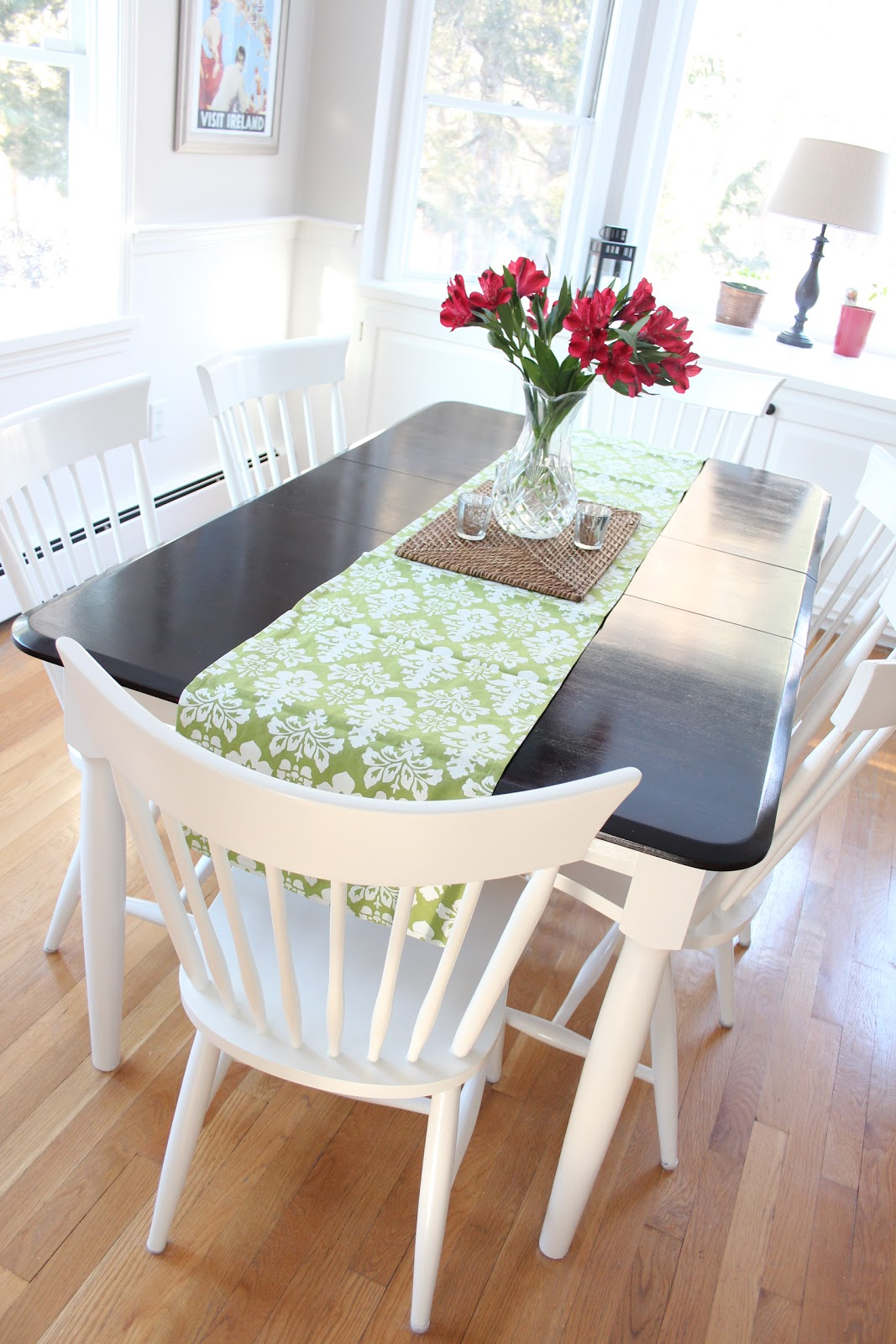 kitchen table makeover refinish kitchen table A Kitchen Table Makeover