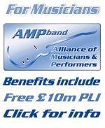 The Alliance of Musicians & Performers – Membership includes free PLI