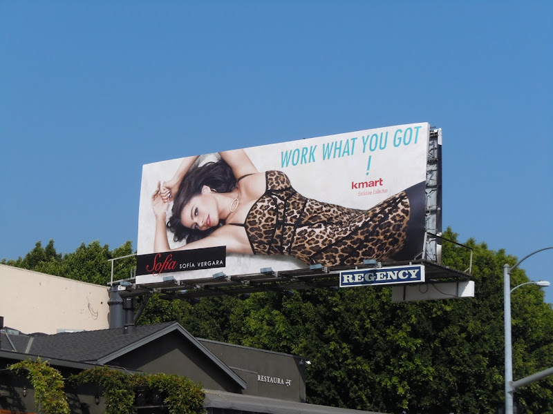 Sofia Vergara Kmart fashion billboard