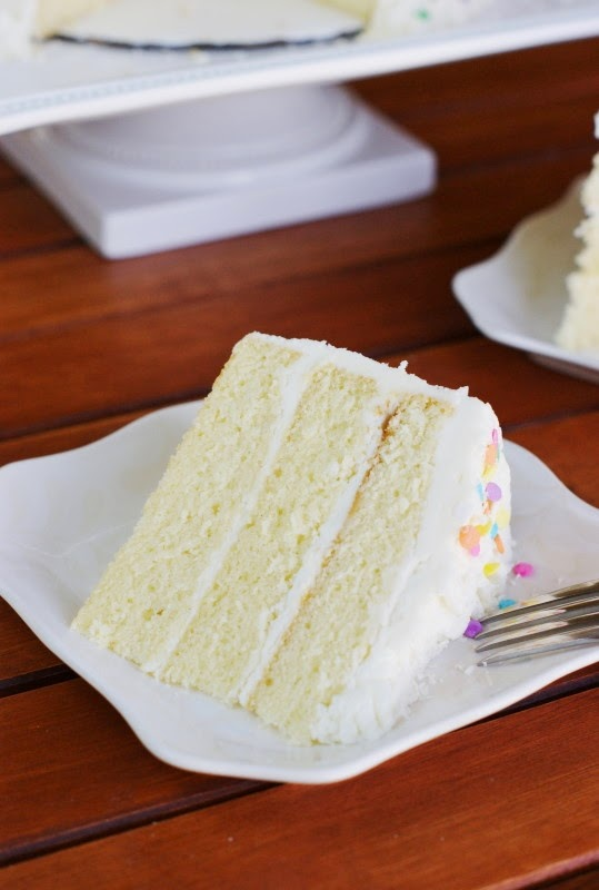 White Chocolate Birthday {or Easter} Cake - The Kitchen is ...