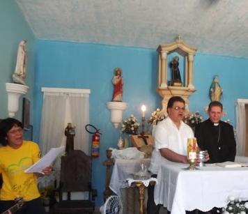 Visita de D.Luiz Henrique da Silva Brito