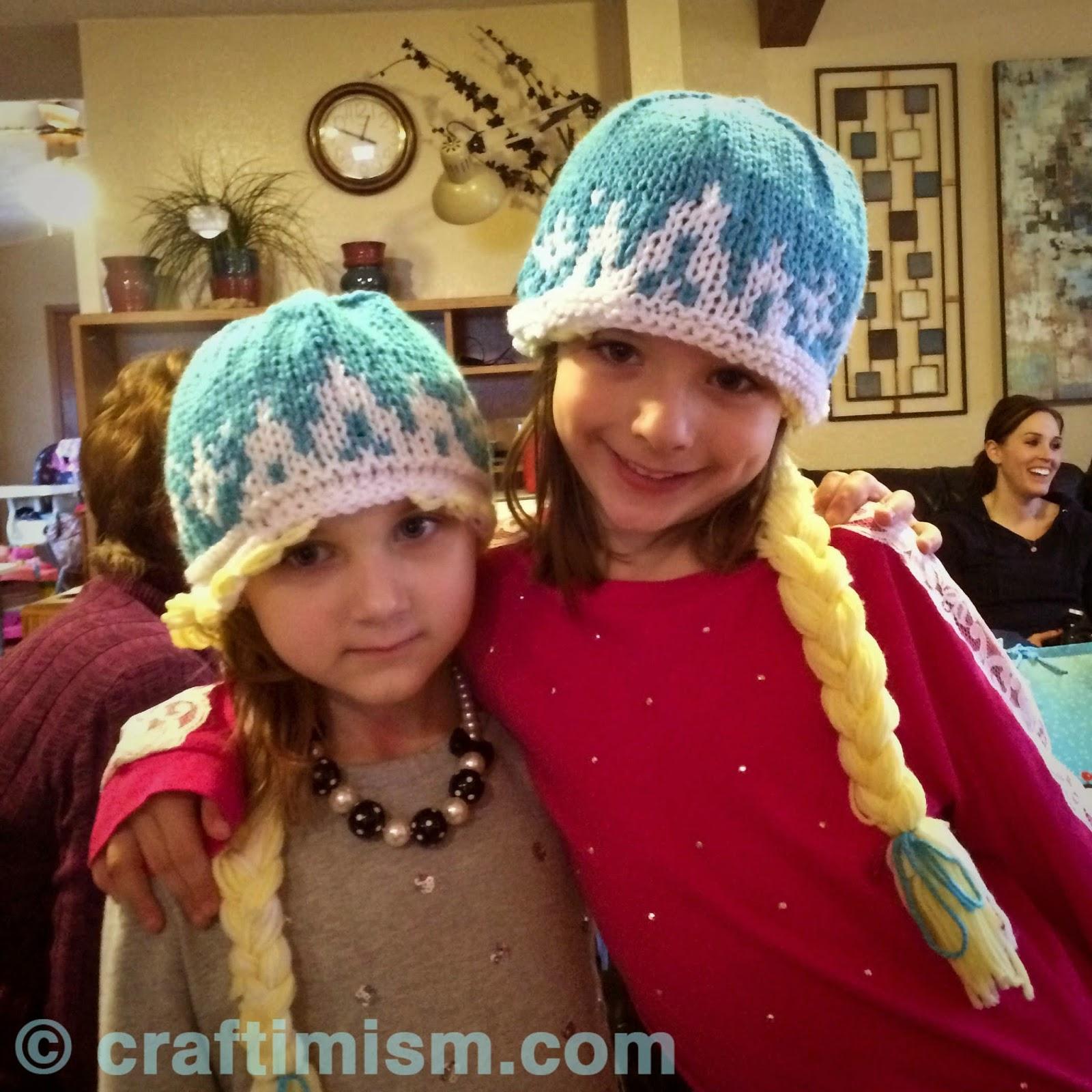 Knitting Patterns For Elsa : Craftimism: Elsa Knit Hat