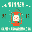Camp NaNoWriMo July 2013 Winner