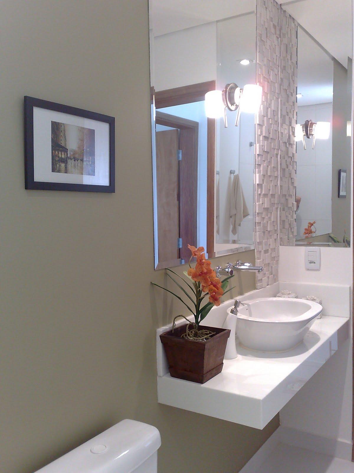Meu mundo e tudo mais : Meu banheiro social em vermelho e branco #3A5C91 1200 1600