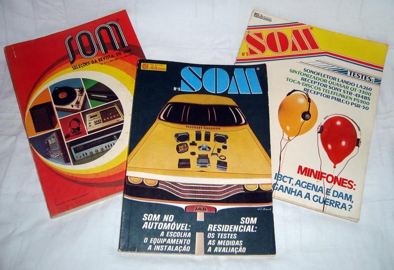 Revistas Som - a venda