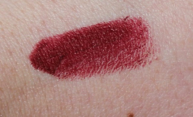 mac hearts aflame lipstick swatch