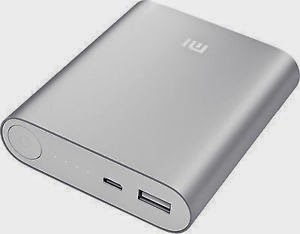 silver Xiaomi Power Bank 10400 mah
