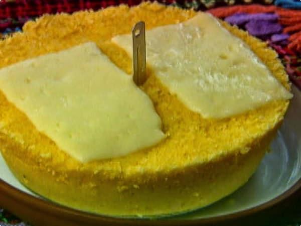 Cuscuz com queijo