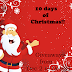 Sign up – 10 days of Christmas! (10 giveaways)