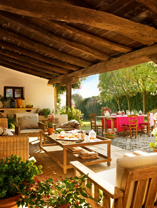 Sunday bliss is my paradissi - Muebles para casas de campo ...