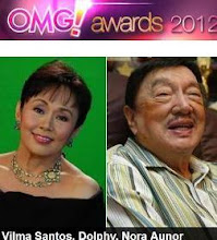"Vilma Santos, ""Major Impact"" Awardee - Yahoo Philippines OMG! Awards 2012"