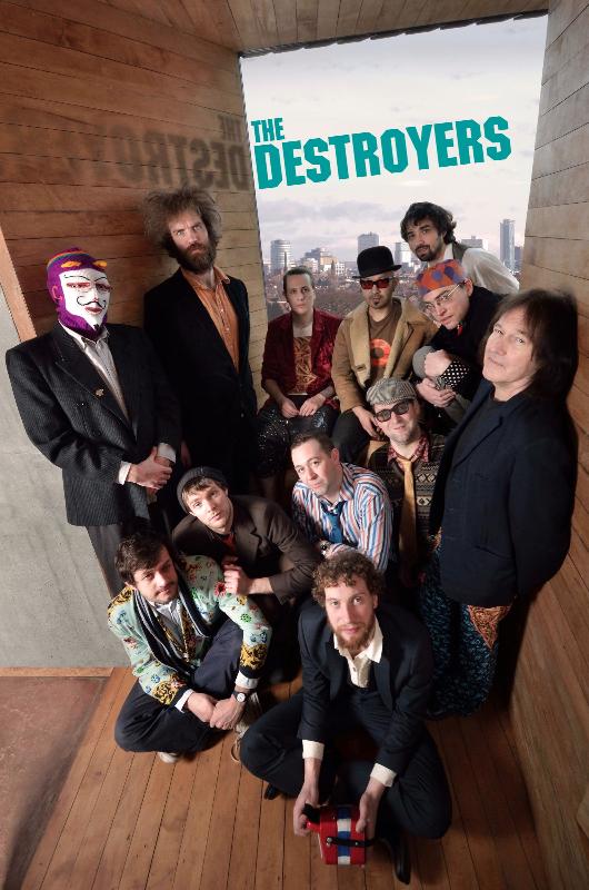 The Destroyers to Headline Threshold 2014 Opening Night