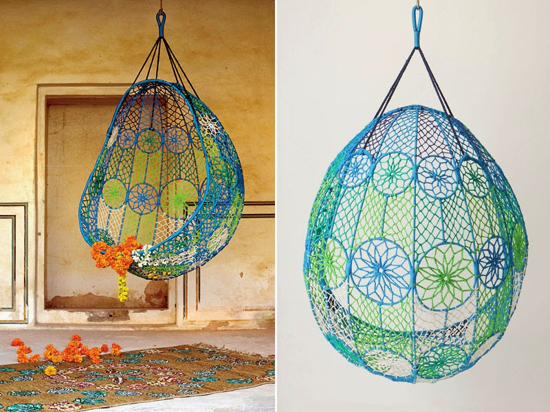 Dacon Design/blog /Knotted Melati Hanging Chair