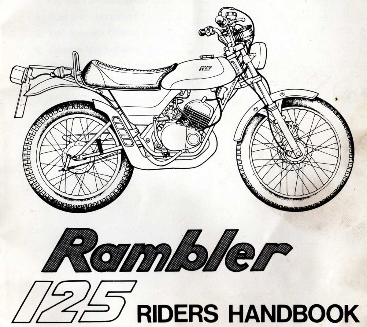 Wiring Diagram For A 1979 Yamaha Dt 125 Library 175 Nvt Riders Handbook