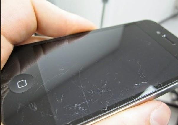 طريقة ازالة الخدوش على شاشة هاتفك