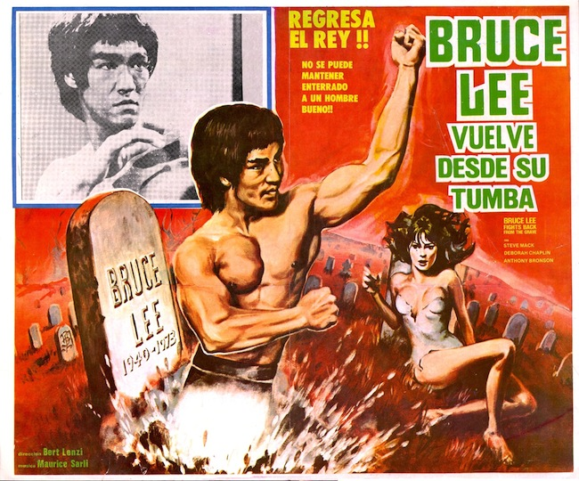 Bruce Lee Fights Back From The Grave Movie Poster