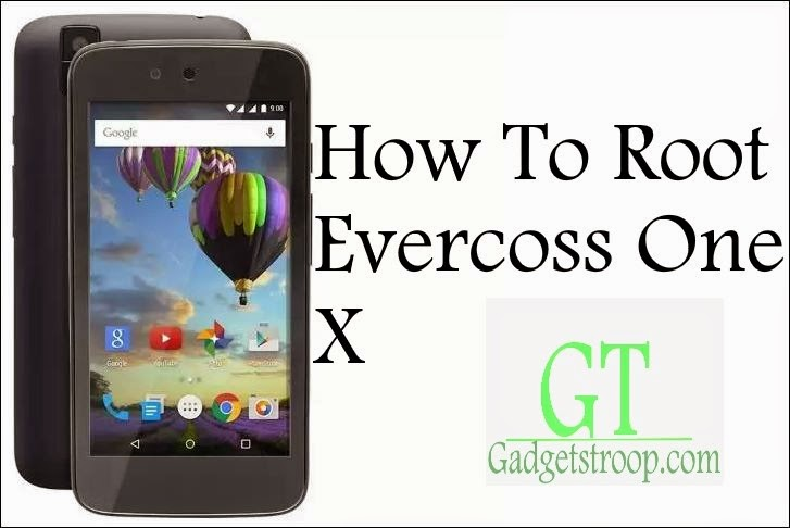 unlock bootloader,install recovery and Root Evercoss one X