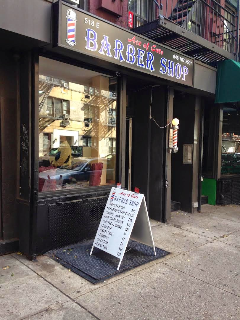 Ev Grieve New For East 6th Street Barber Shop Dry Cleaners With Cafe