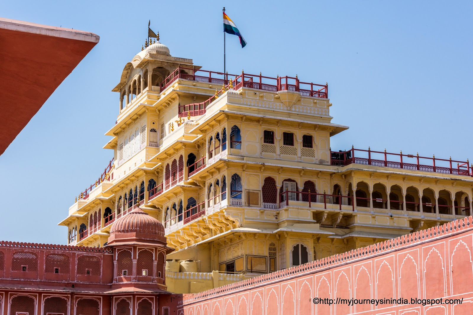 Chandra Mahal at City Palace Jaipur