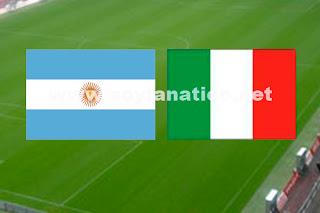 Amistoso Argentina vs Italia 2013