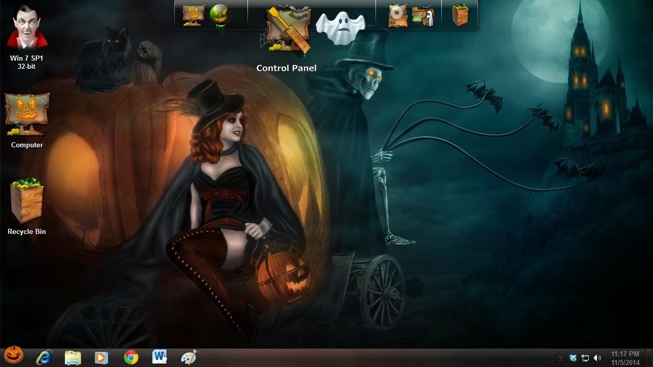Descargar Tema de Halloween para su PC con Windows