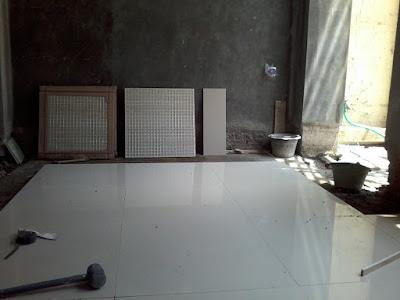 Pasang granit dapur
