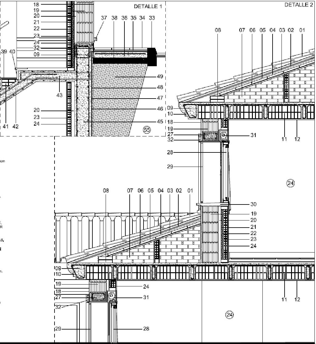Arquisurlauro arquitectura bioclim tica secci n for Junta constructiva