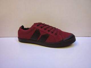 Sepatu Macbeth Vegan maroon murah