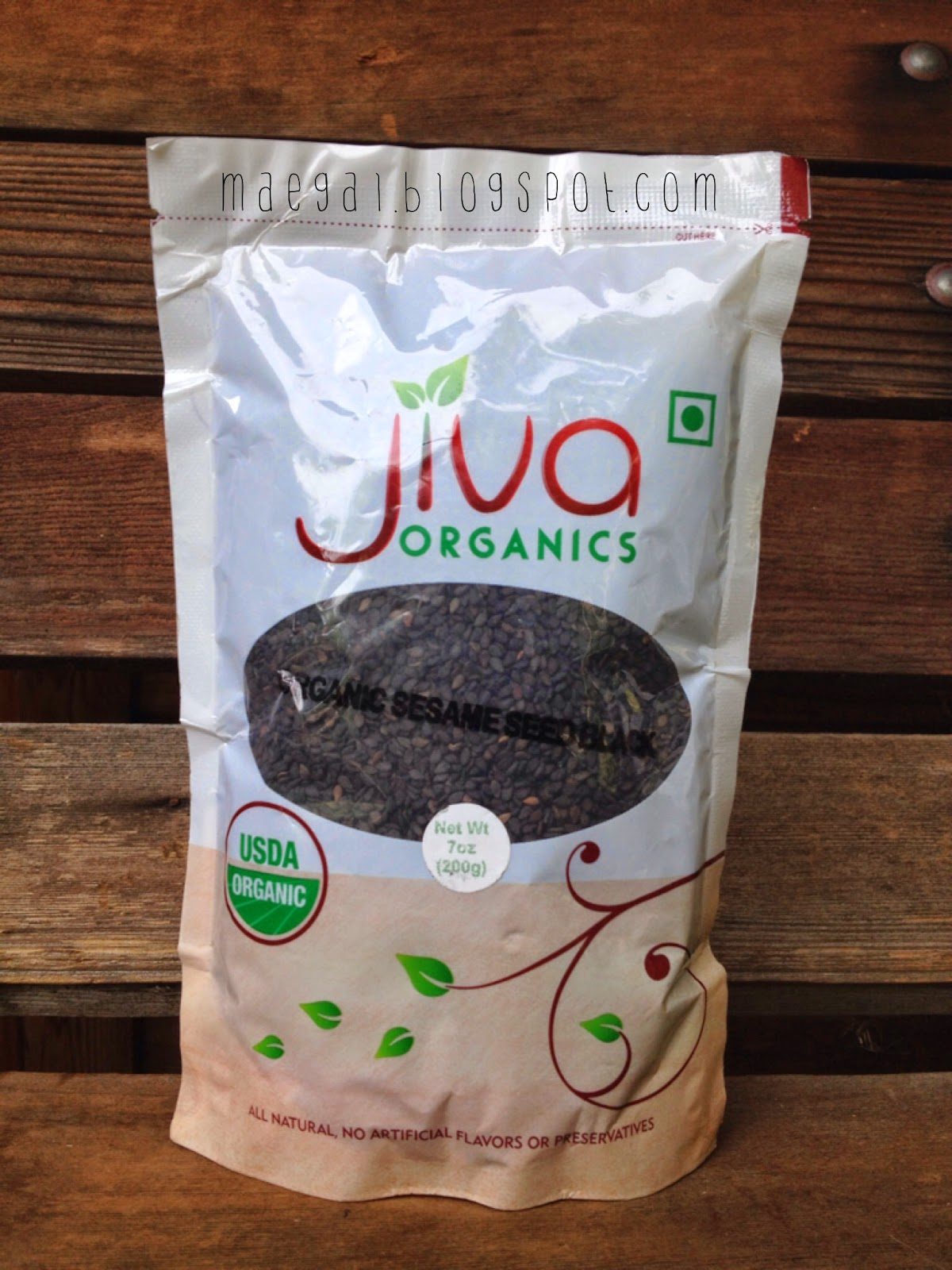 jiva organic black sesame seeds | maegal.blogspot.com